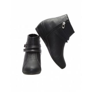 CATBIRD Women Black Stylish Casual Boots E30-52