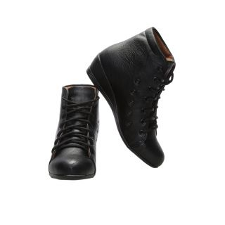 CATBIRD Women Black Stylish Casual Boots LED-48