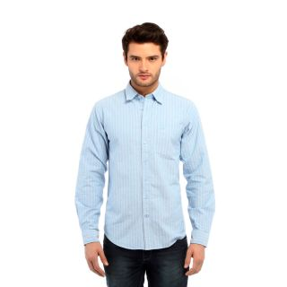 Red Tape Blue Casual Shirts
