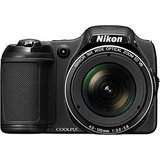 Nikon Coolpix L820 Advance Point and Shoot (Black)