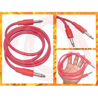 P38 Mono to Mono Cable Around 1.5m Long Red