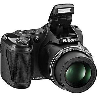 Nikon Coolpix L820 Advance Point and Shoot (Black)