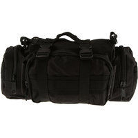 Imported Military Tactical Waist Pack Outdoor Shoulder Hand Bag Camping Black