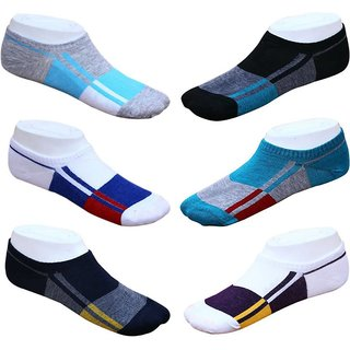 DDH Colour Loafer Socks Pack Of 3