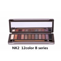 Imported Naked 2 Urban Decay Eyeshadow Makeup Palette 12 Shades With Brush