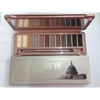 Imported Naked 8 Urban Decay Eyeshadow Makeup Palette 12 Shades With Brush