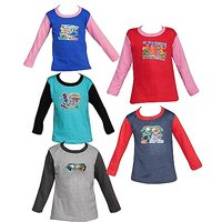 RKG Combo of 5  Full Sleeve Tshirt for Boys