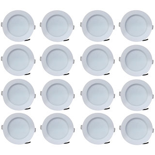Bene LED 7w Blaze Round Ceiling Light Color of LED White (Pack of 16 Pcs)