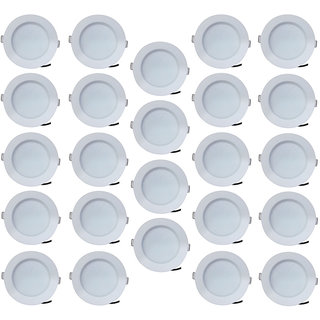 Bene LED 7w Blaze Round Ceiling Light Color of LED White (Pack of 24 Pcs)