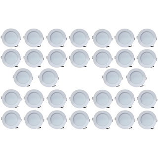 Bene LED 7w Blaze Round Ceiling Light Color of LED White (Pack of 32 Pcs)