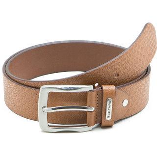 Red Tape Tan Leather Belt for Men  RBL189