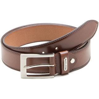 Red Tape Men's Brown Leather Belt RBL183