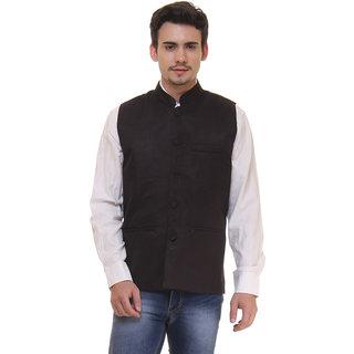 Routeen Blue Partywear Modi Jacket for Men