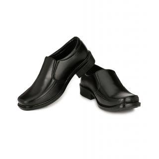 Black Shoes For Men (Material Patent Leather) K-1018-Black
