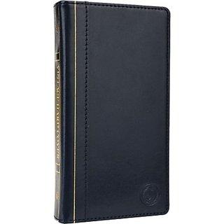 Jojo Wallet Case Cover for Oppo Joy Plus (Dark Blue)