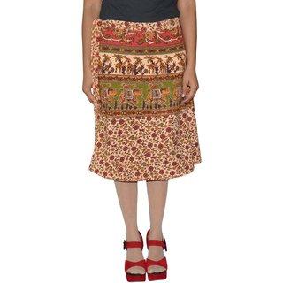 Gurukripa ShopeePrinted Women's Wrap Around Skirts GKSWCK-A0283