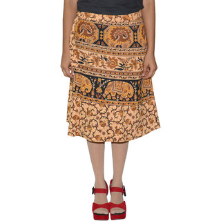 Gurukripa ShopeePrinted Women's Wrap Around Skirts  GKSWCK-A0286