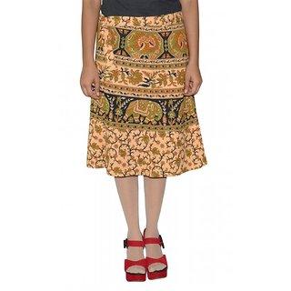 Gurukripa Shopee Printed Women's Wrap Around Skirts GSKWCK-A0287