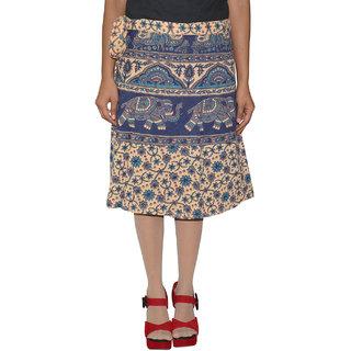 Gurukripa ShopeePrinted Women's Wrap Around Skirts GKSWCK-A0291