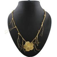 Anuradha Art Beautifully Design This Pretty Ganpati Necklace For Ganesh Murti