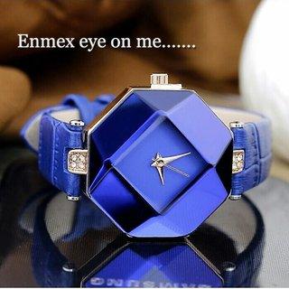 MISS KEKE 2016 Fashion Blue Stone Crystal Quartz Watch Quartz-watch Women Watches Ladies Woman Violetta