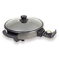 Sogo 30cm Electric Pizza / Multi-Use Pan With Glass Lid - Model SS-10010