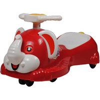 Ez' Playmates Baby  Elephant Magic Car - Red/White
