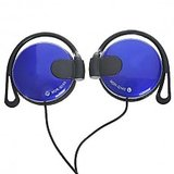 Blue Sony MDR-Q140 Headphones
