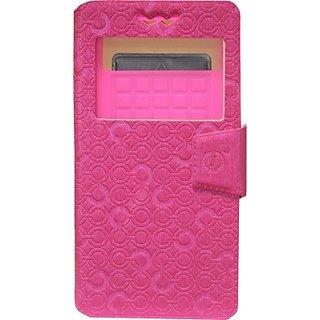 Jojo Wallet Case Cover for Nokia Lumia 638         (Exotic Pink)