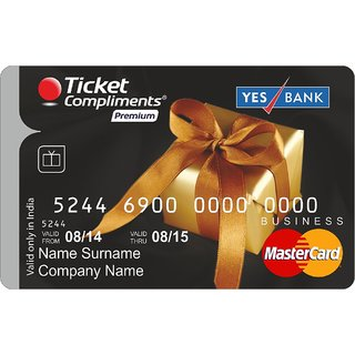 Complimentary Tickets Premium Gift Card  By ShopClues @ Rs.4,875