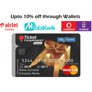 Ticket Compliments Premium Gift Card Worth Rs. 2000