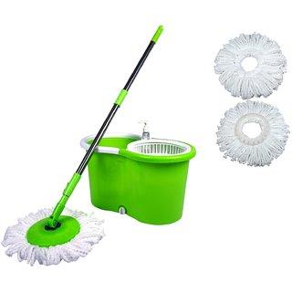 Wonder Spin light wheel MOP for eassy floor cleaning