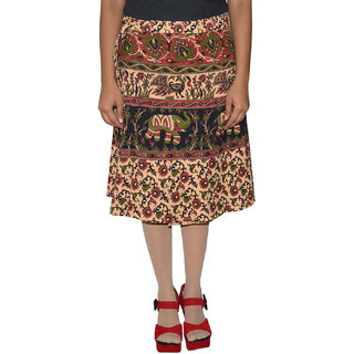 Gurukripa ShopeePrinted Women's Wrap Around Skirts GKSWCK-A0293