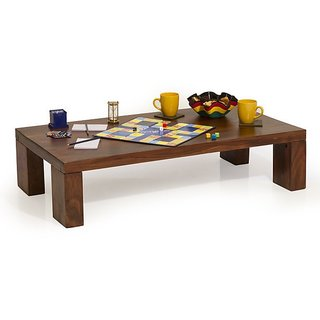 Altavista York Coffee Table Teak  Mahogany Finish