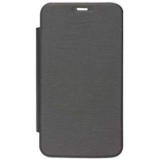 Micromax Canvas A1  Flip Cover Color Black FLIP329
