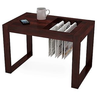 Altavista Xolo Coffee Table Teak  Mahogany Finish