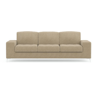 Fabhomedecor  Angelo 3 Seater Sofa Light Camel