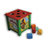 Baby Flocks Multi Activity Box – Educational Wooden Toy