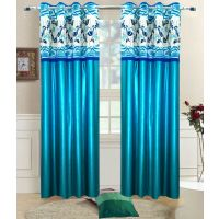 Pari Home Furnishing Set Of 2pc Door Curtain