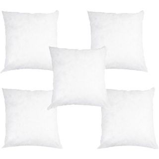 Buy Set Of 5 Cushion Fillers And Get Free 5 Pillow Covers