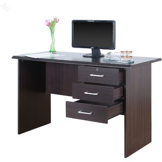 FNU Honey Brown Color office table