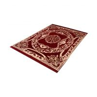 Peponi Red Ethnic Design Carpets For Living Room/Bedroom/Drawing Room((4.57.25 Ft)