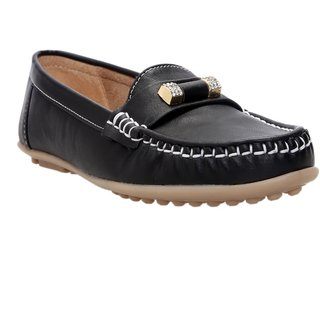 CATBIRD Black Stylish Loafer For Women 518