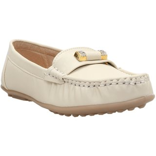 Catbird Womens Cream Loafers