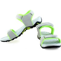 Lancer Men Grey, Green Sports Sandals(Grey, Green)