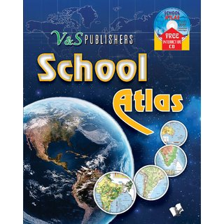 SCHOOL ATLAS (with CD)