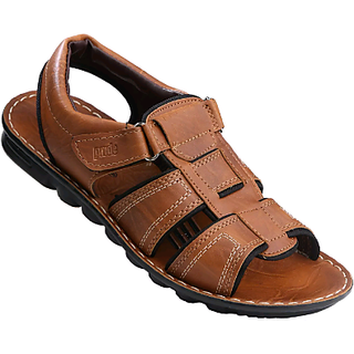 VKC Pride Men 3065 Tan Floater Sandals,