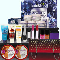 Shine Forever- With Nutriglow Diamond Perfect Radiance Facial Kit And A Handbag