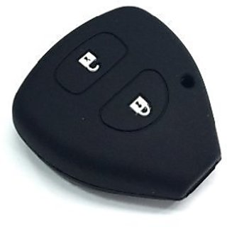 Autostark Silicone Key Cover For Toyota 2 Button Remote Key