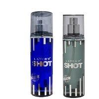 Layer'r Shot Deep Desire, Power Play Deodorant (pack Of 2) 135ml Each